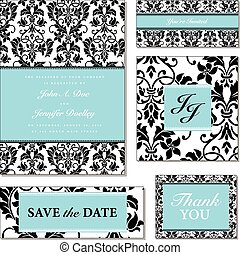 Vector Pastel Frame Set. Easy to edit. Perfect for invitations or announcements.