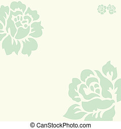 Vector Pastel Rose Background
