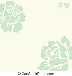 Vector Pastel Rose Background
