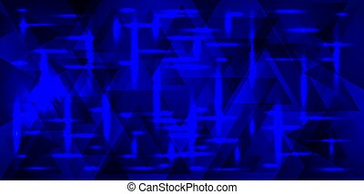 Vector pattern of metal in blue tones.