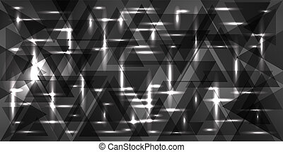 Vector pattern of silver and metal in gray tones.
