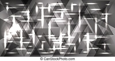 Vector pattern of silver and metal in light gray tones.