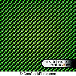 Vector Pattern seamless carbon fiber greenunder mask for the...