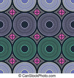 vector, pattern., seamless, ornament., afrikaan