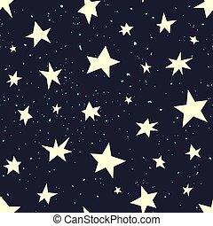 Vector pattern stars.