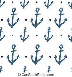 Vector pattern with anchors