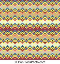 Vector pattern with colorful abstract lines. Interwined stripes.