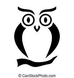 Vector pattern with owl for postcards, wallpaper, papers, textiles.
