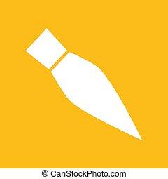 Vector pen icon. Logo. Pictogram. Button. Vector illustration.