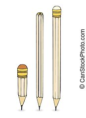 Vector pencils set