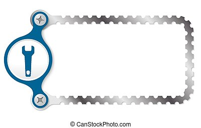 vector perforated frame and spanner