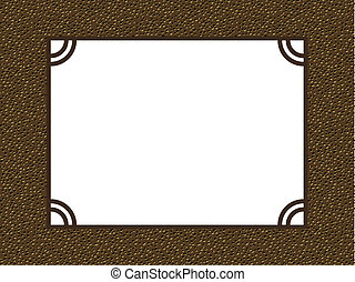 photo album page frame pattern background