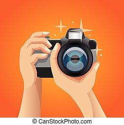 Vector photo illustration