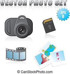 vector photo set