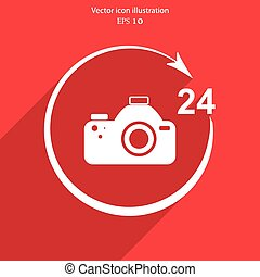 Vector photo studio. 24 hours service.