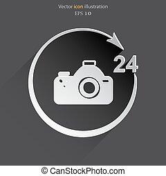 Vector photo studio. 24 hours service.