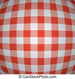 vector picnic tablecloth background