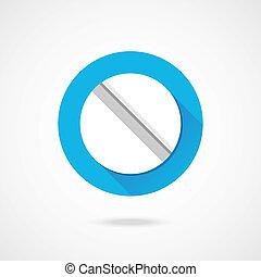 Vector Pill Icon