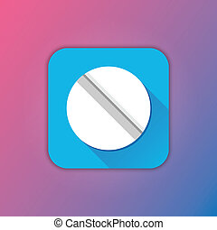 Vector Pill Icon