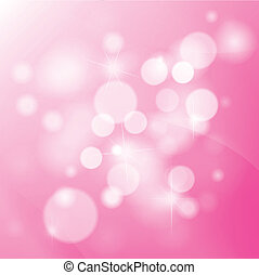 Vector pink background