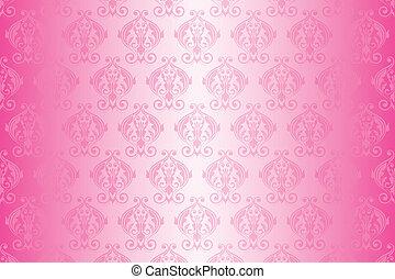 Vector pink wallpaper