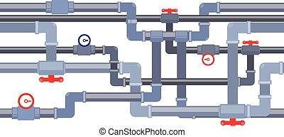 vector pipeline background