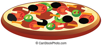 pizza - vector pizza