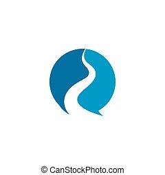 vector, plantilla, manera, logotipo, icono, ilustración