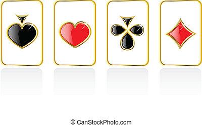 vector play card set