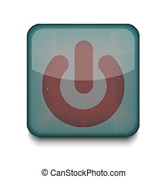 Vector play icon. Eps10. Easy to edit