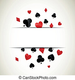 Vector Playing Card Suits - Vector Illustration of Playing...