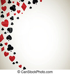 Vector Illustration of Playing Card Suits