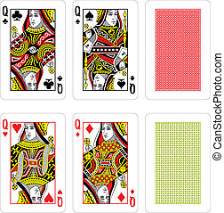 Vector Playing Cards - fully editable vector illustration ...