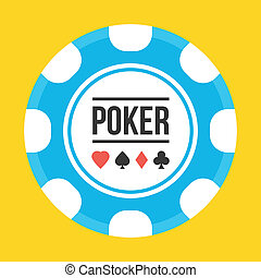 Vector Poker Chip Icon