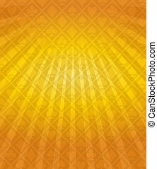 Vector Poker Orange Background
