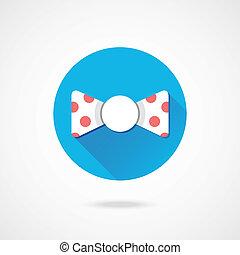 Vector Polka Dot Bow Tie