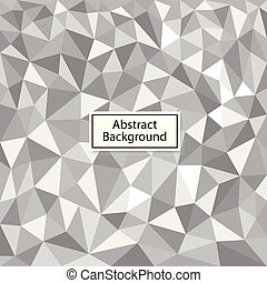 Vector Polygon Abstract Background.