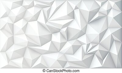 Vector Illustration of Polygon Abstract Polygonal Geometric Triangle Background