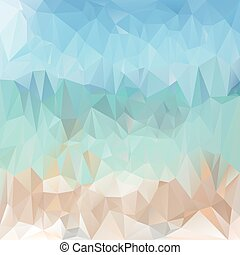 vector polygonal background pattern - triangular design in ...