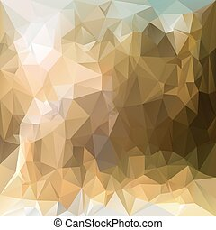 vector polygonal background - triangular design in desert ...