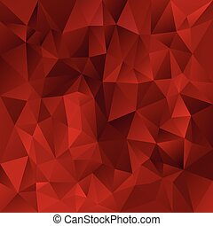 vector polygonal background - triangular design in valentine...