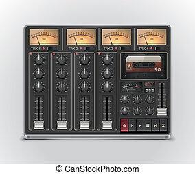 Vector portable recording studio XXL