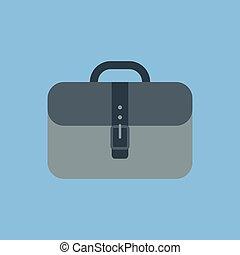 Vector portfolio icon. Fully editable image.