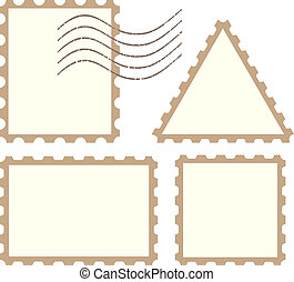 Vector post stamps