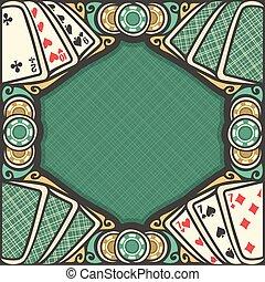Vector poster for Blackjack gamble