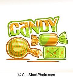 Vector poster for Candy