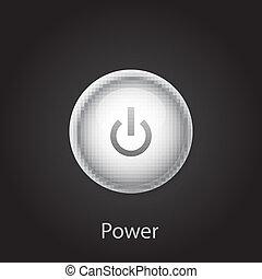 Vector power button