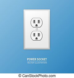 Vector power socket