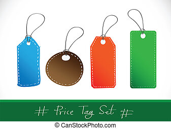 Vector price tag Sale Tags and Tags