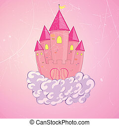Vector Princess Castle